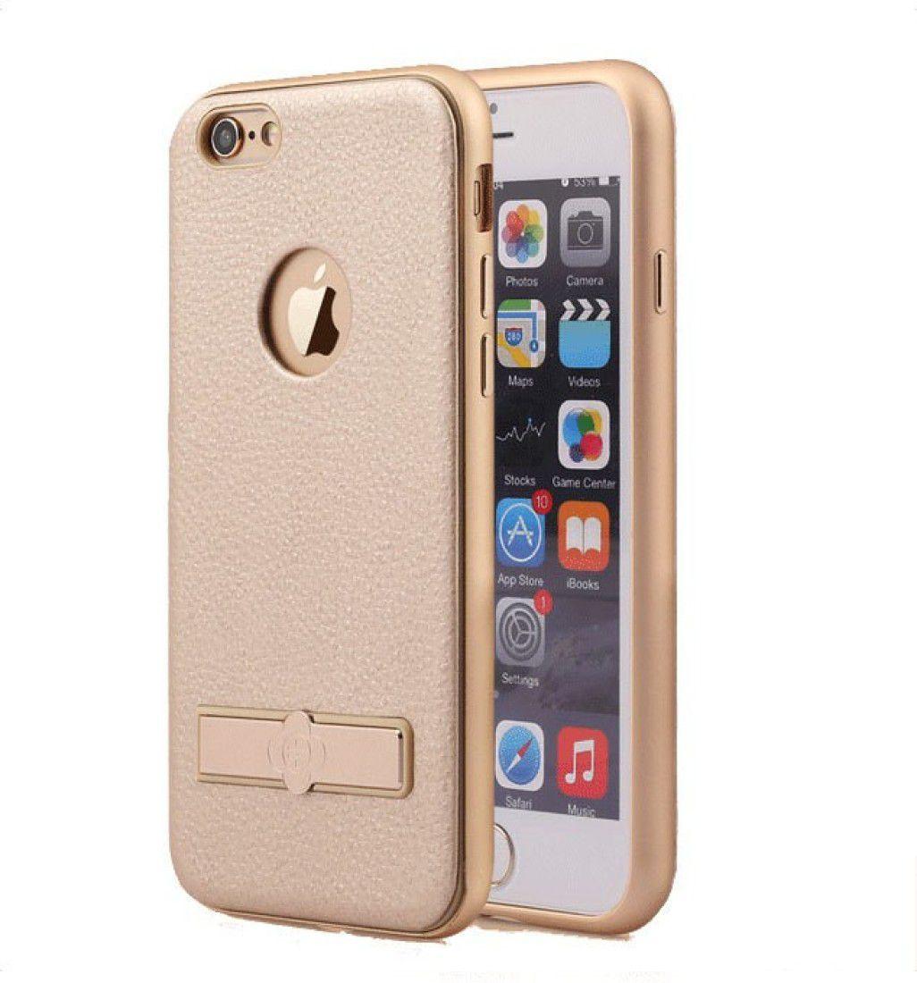 competitive price 336cb 0f929 TOTU Design Back Cover for iPhone 6 Plus / iPhone 6S Plus - Supreme Series  Kickstand Case(Gold)
