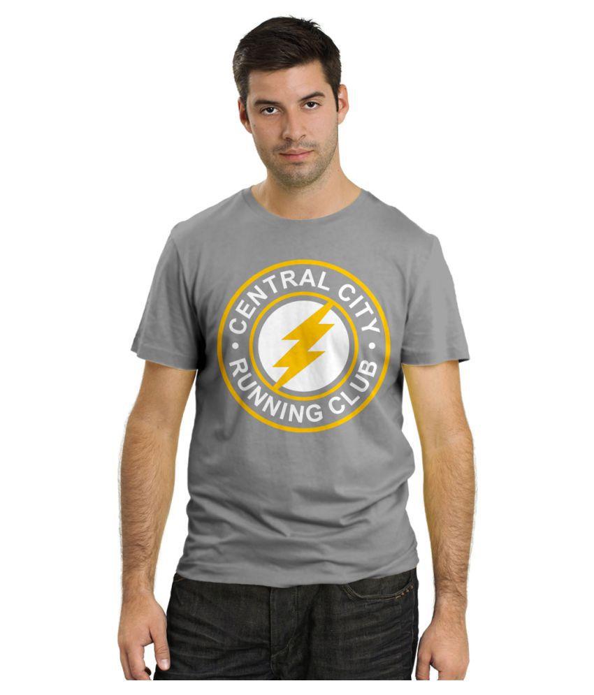 Rawpockets Grey Round T-Shirt