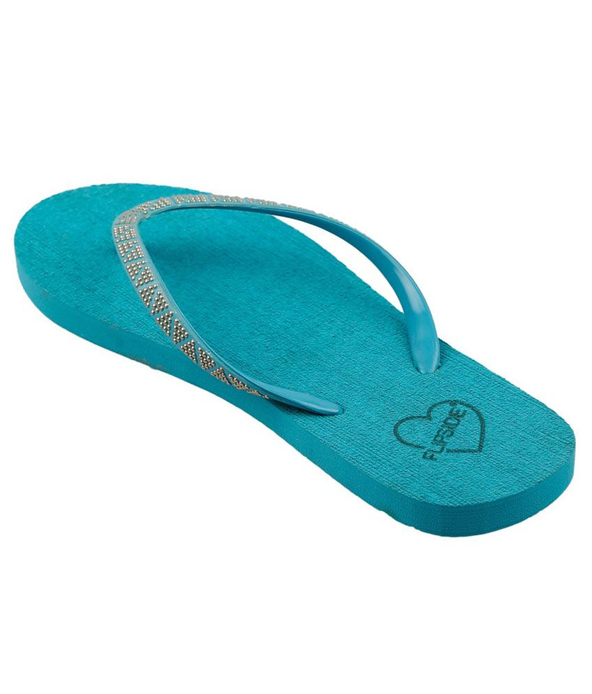 72f298143a37a Flipside Womens Soul Green Slippers Price in India- Buy Flipside ...