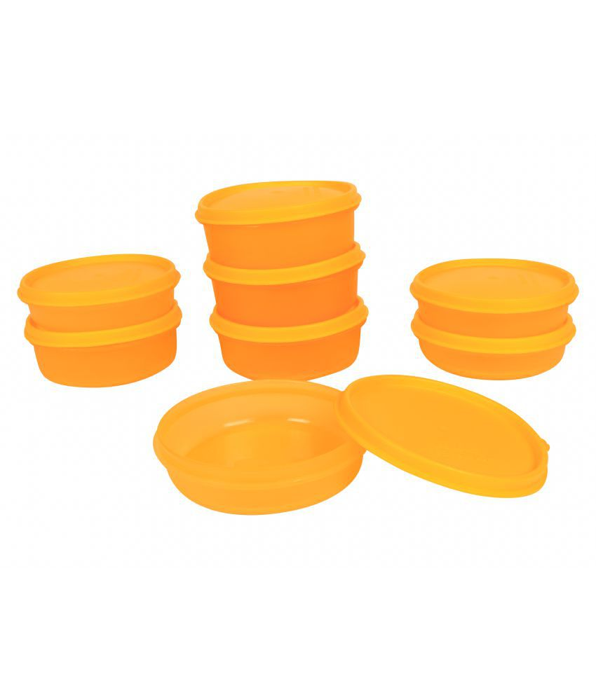 Cre8 Air Tight Storage Container Polyproplene Food Container Set of 8