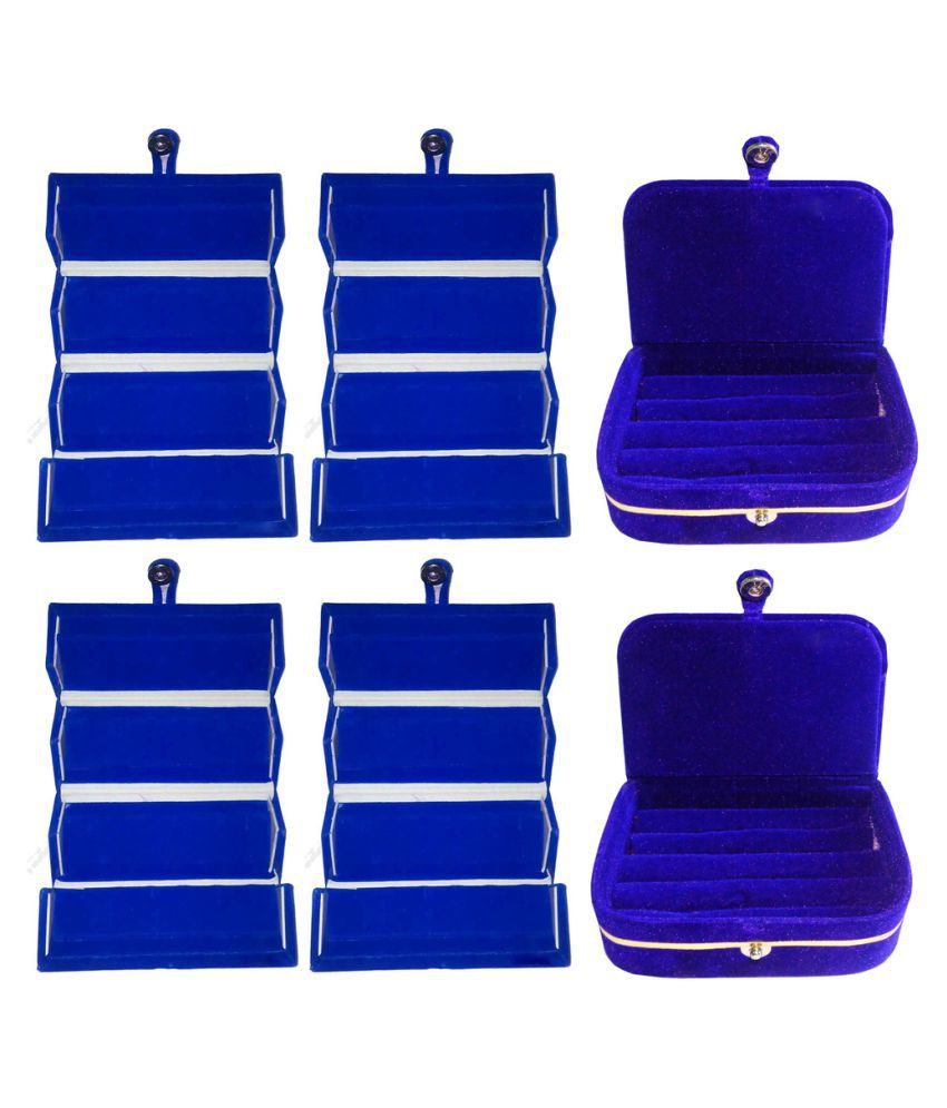 Abhinidi Blue 6 Earring Box