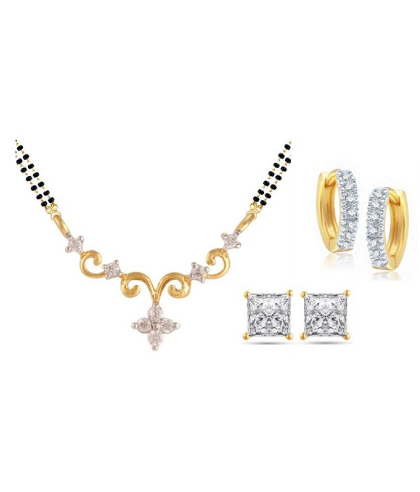 Parinaaz Multicolor Mangalsutra Set with Earrings