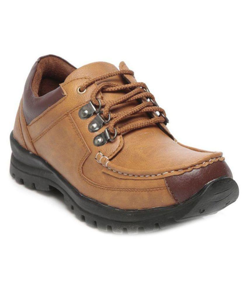 Ten Brown Casual Boot