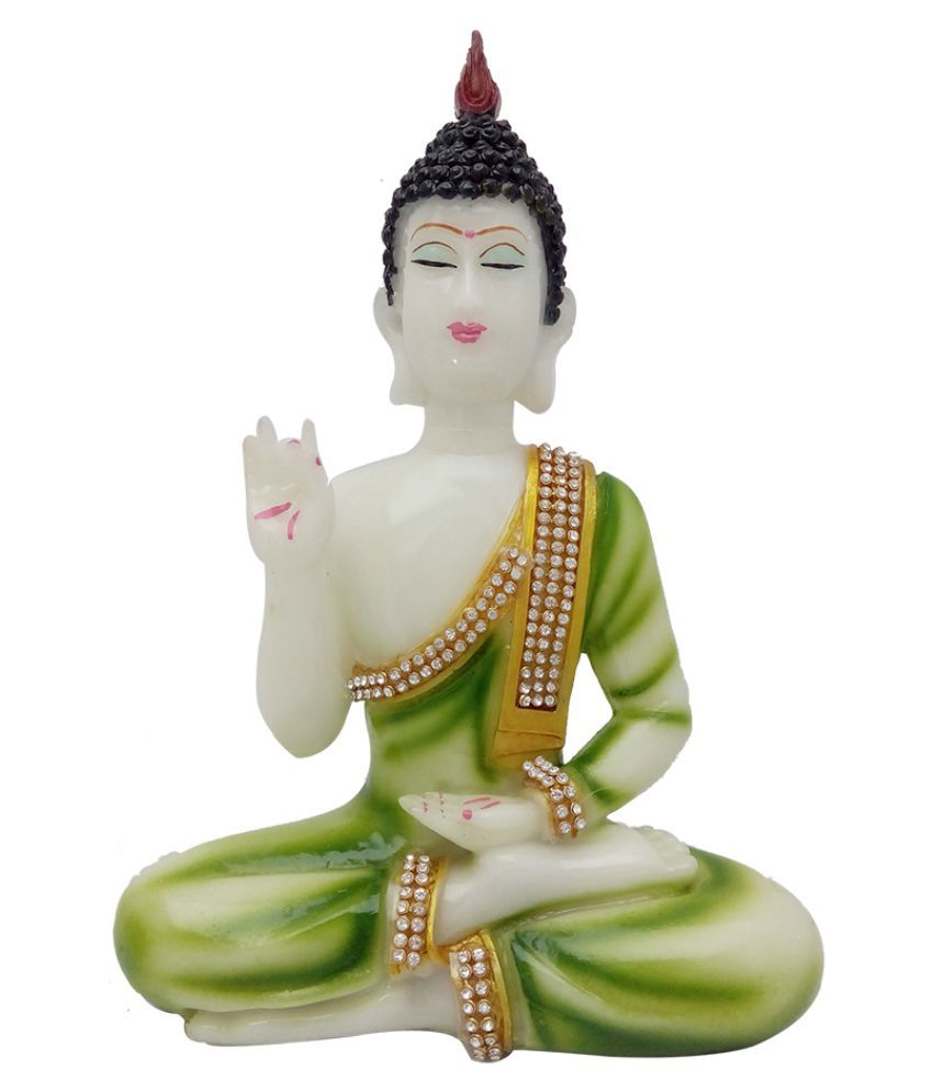 Art N Hub Buddha Earthenware Idol