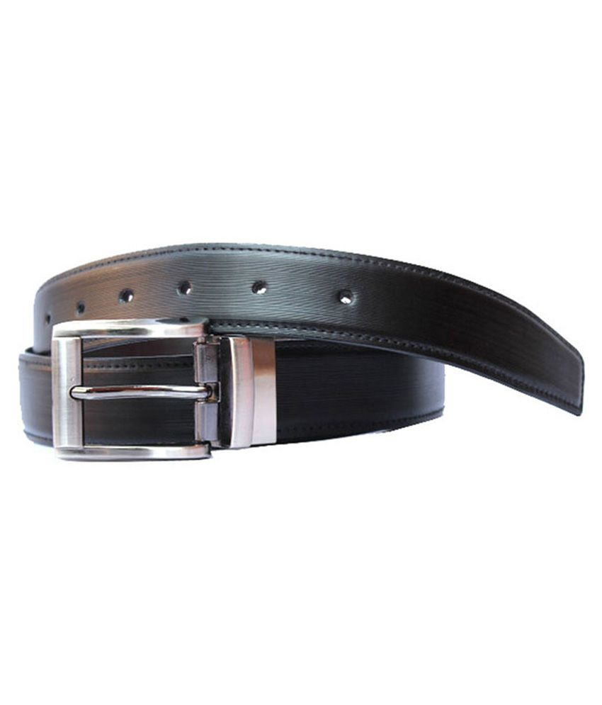 Winsome Deal Black PU Formal Belts