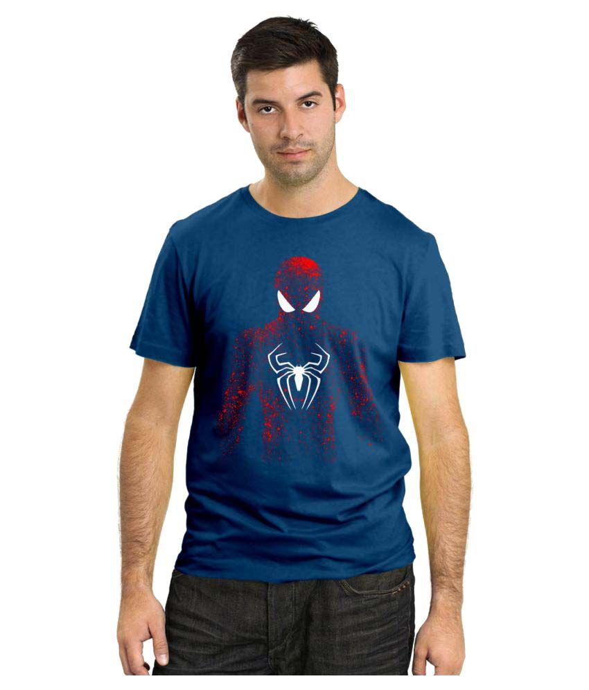 Rawpockets Navy Round T-Shirt