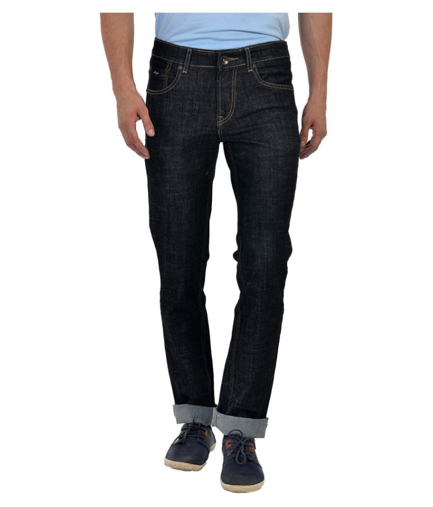 Wert Jeans Black Skinny Washed
