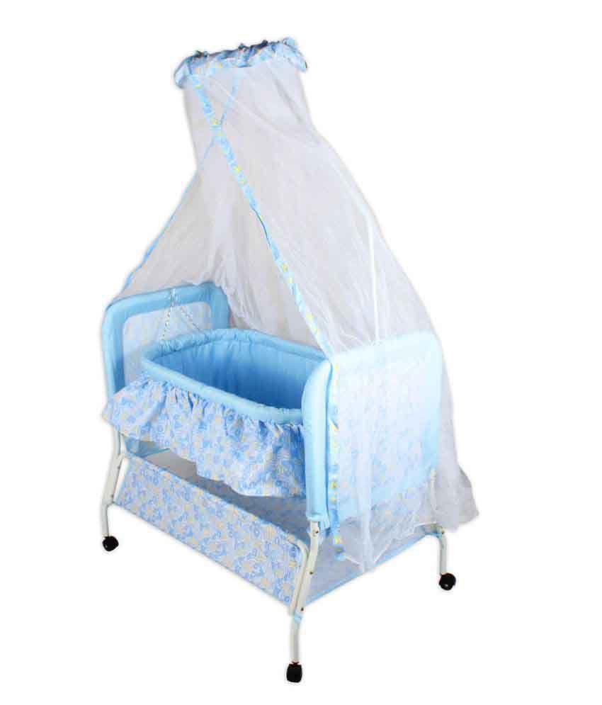 Baybee Sleep-In Cradle Blue