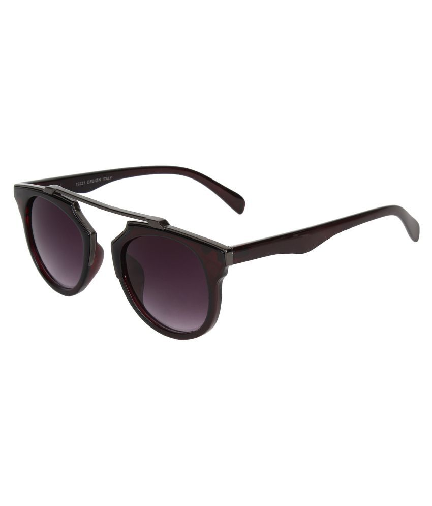 711a0013095 ZYX Grey Panto Sunglasses available at SnapDeal for Rs.692