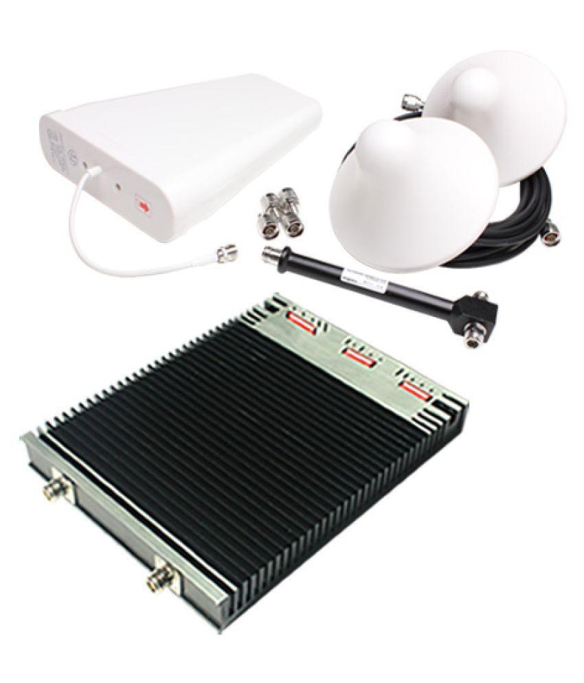 Lintratek 900-1800-2100Mhz Tri Band Repeater HPC-GDW27 3200 RJ11 Black