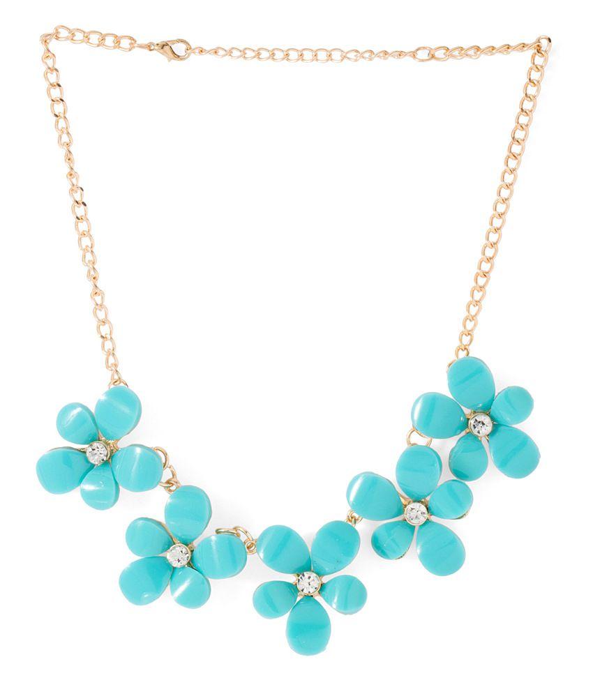Voylla Turquoise Necklace