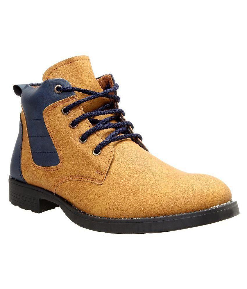 Tomcat Tan Casual Boot