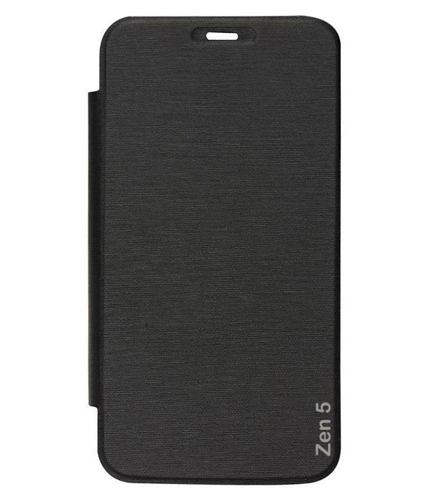 100% authentic 2521d d5c22 Asus Zenfone 5 Flip Cover by Karshni - Black