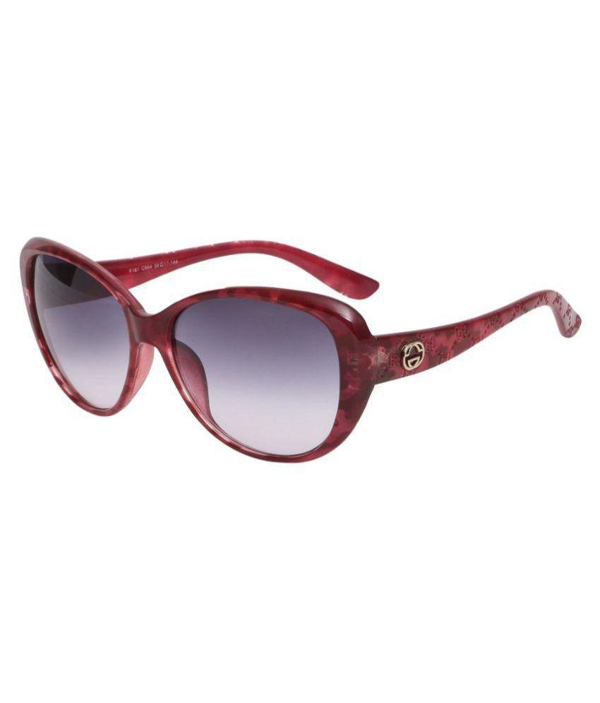 Stylen Black Cat Eye Sunglasses ( F161-C664 )