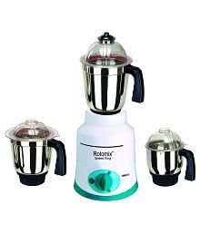 Rotomix New_MG16-722 600 W 3 Jar Mixer Grinder