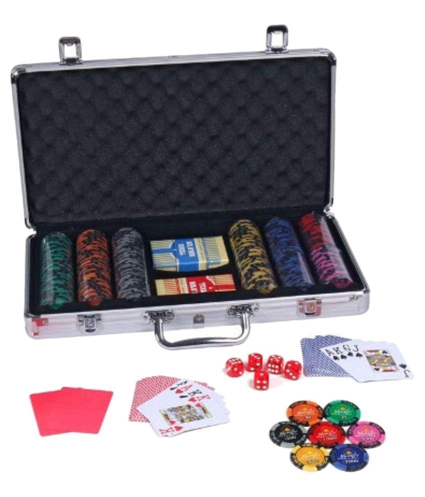 Casinoite Monte Carlo Dark Millions Clay Pro Poker Chip Set 300 Toy