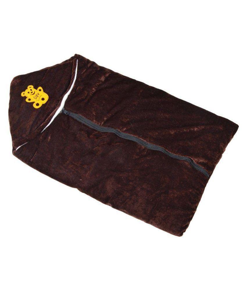 Chhote Janab Brown Cotton Sleepin Bag