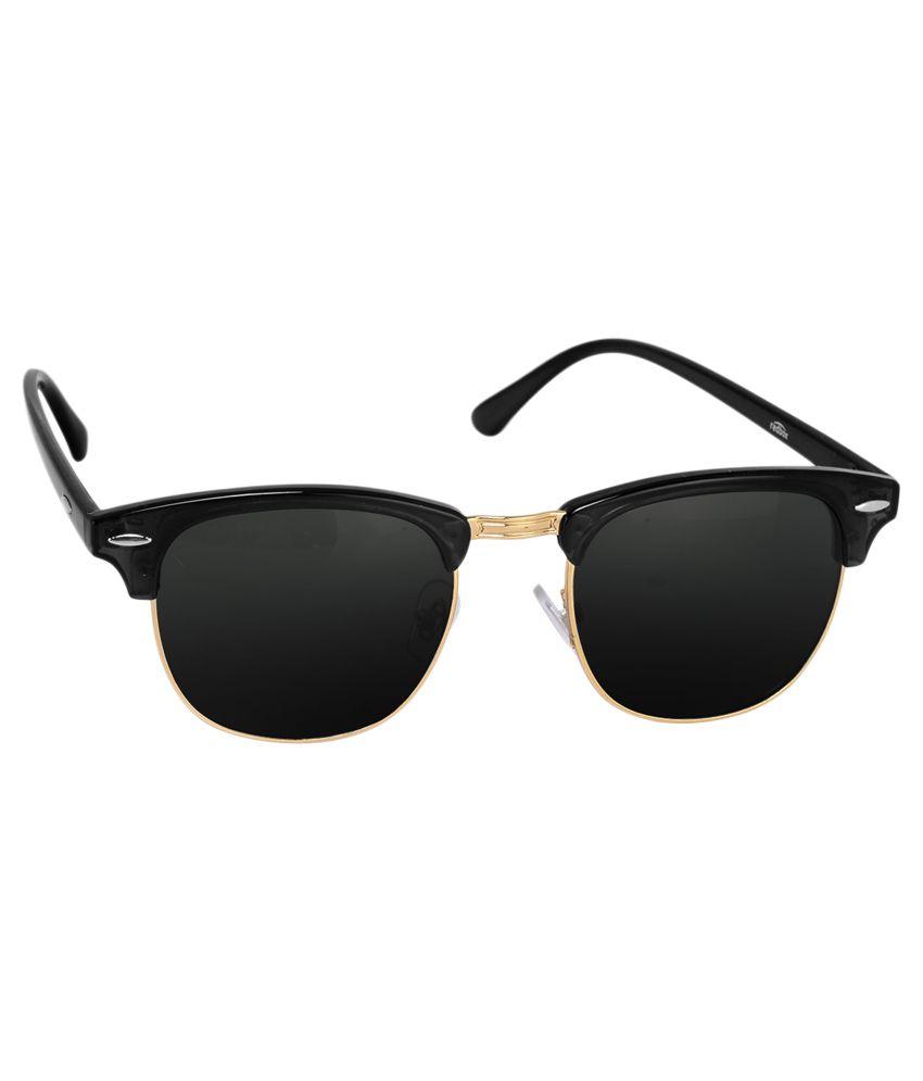 779bbd9616 Silver Kartz Black Wayfarer Sunglasses ( ) - Buy Silver Kartz Black Wayfarer  Sunglasses ( ) Online at Low Price - Snapdeal