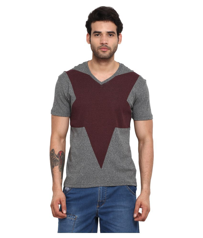 Wear Your Mind Multi V-Neck T-Shirt