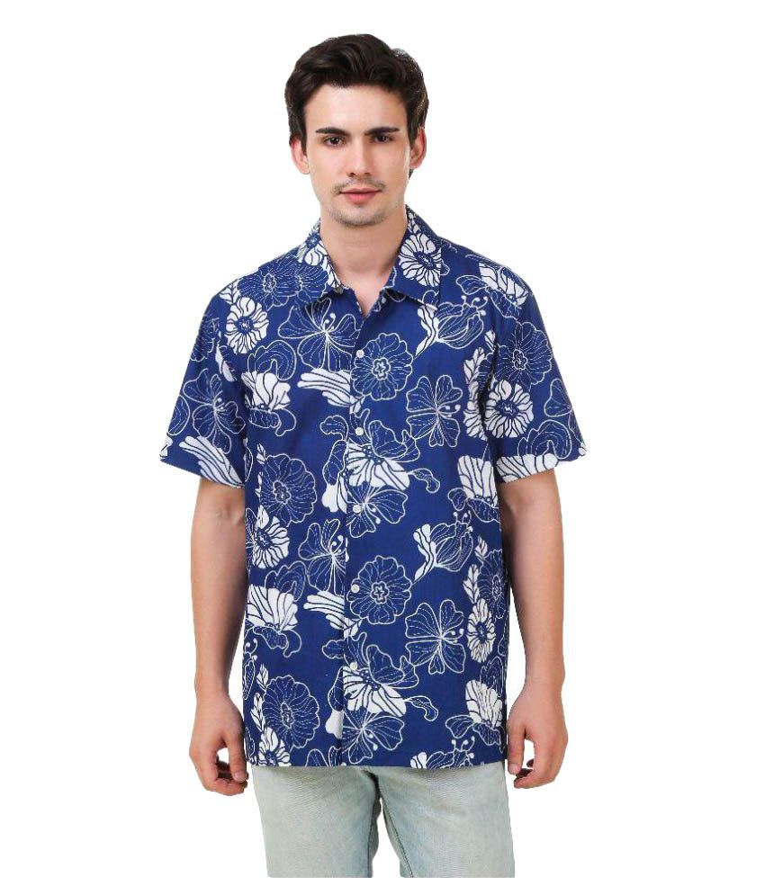 267ecd5e215f Mind The Gap Blue Partywear Regular Fit Shirt - Buy Mind The Gap Blue  Partywear Regular Fit Shirt Online at Best Prices in India on Snapdeal