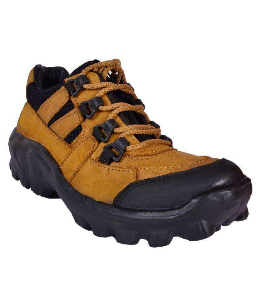 Sunfoot Khaki Hiking & Trekking Boot