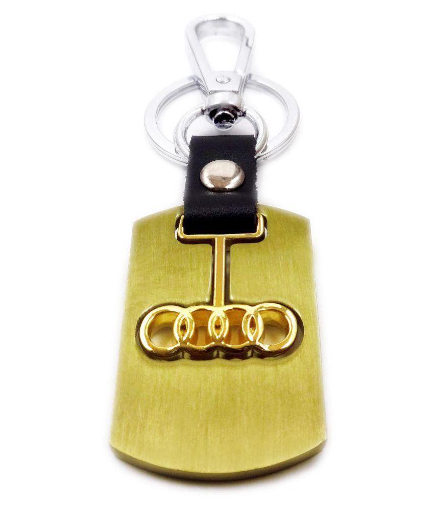 Aditya Traders Classy Audi Car Designer Metal Keychain