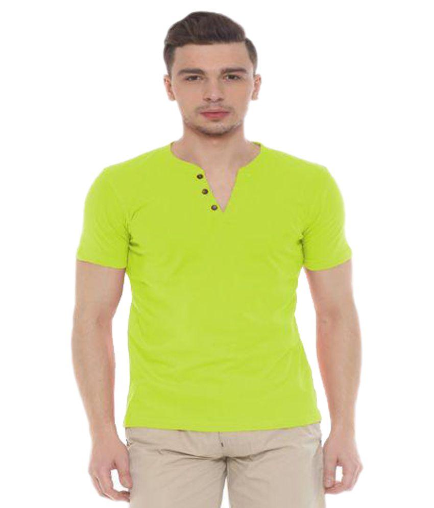 Sweet Dreams Green Henley T-Shirt
