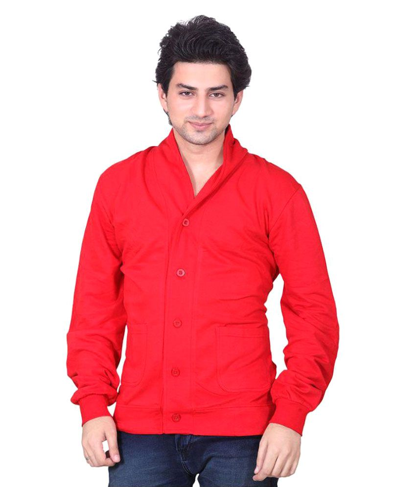 LUCfashion Red Solid Casual 2 Piece Suits