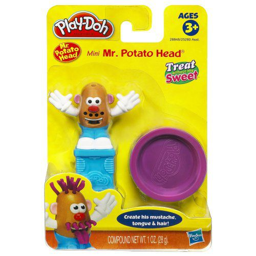 Play Doh Mini Playset Treats, Includes 1 Oz Play Doh & Presser, 3Y+, (Mini Mr. Potato Head) - Buy Play Doh Mini Playset Treats, Includes 1 Oz Play Doh ...