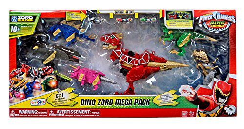 Power Rangers Dino Charge Zord Builder Dino Zord Mega Pack Action