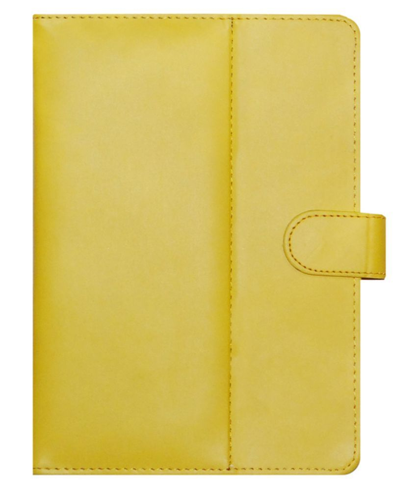 Lenovo A7-30 2G A3300-Gv Flip Cover By ACM Yellow