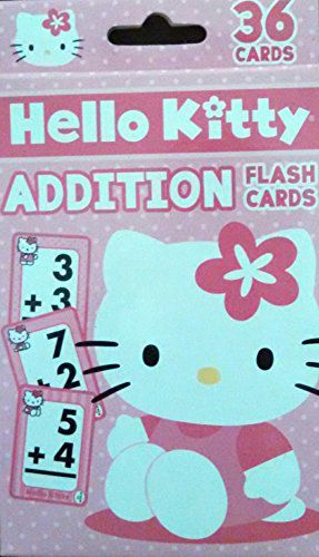 Hello Kitty Simple Addition Flash Cards Buy Hello Kitty Simple