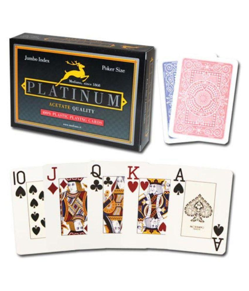 Modiano Assorted Plastic Playing Cards