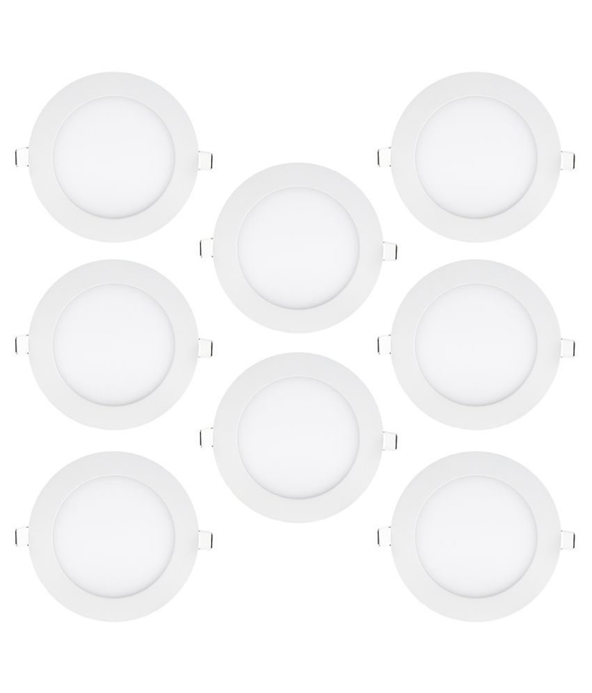 Bene 18W Round Ceiling Light 22 cms. - Pack of 8