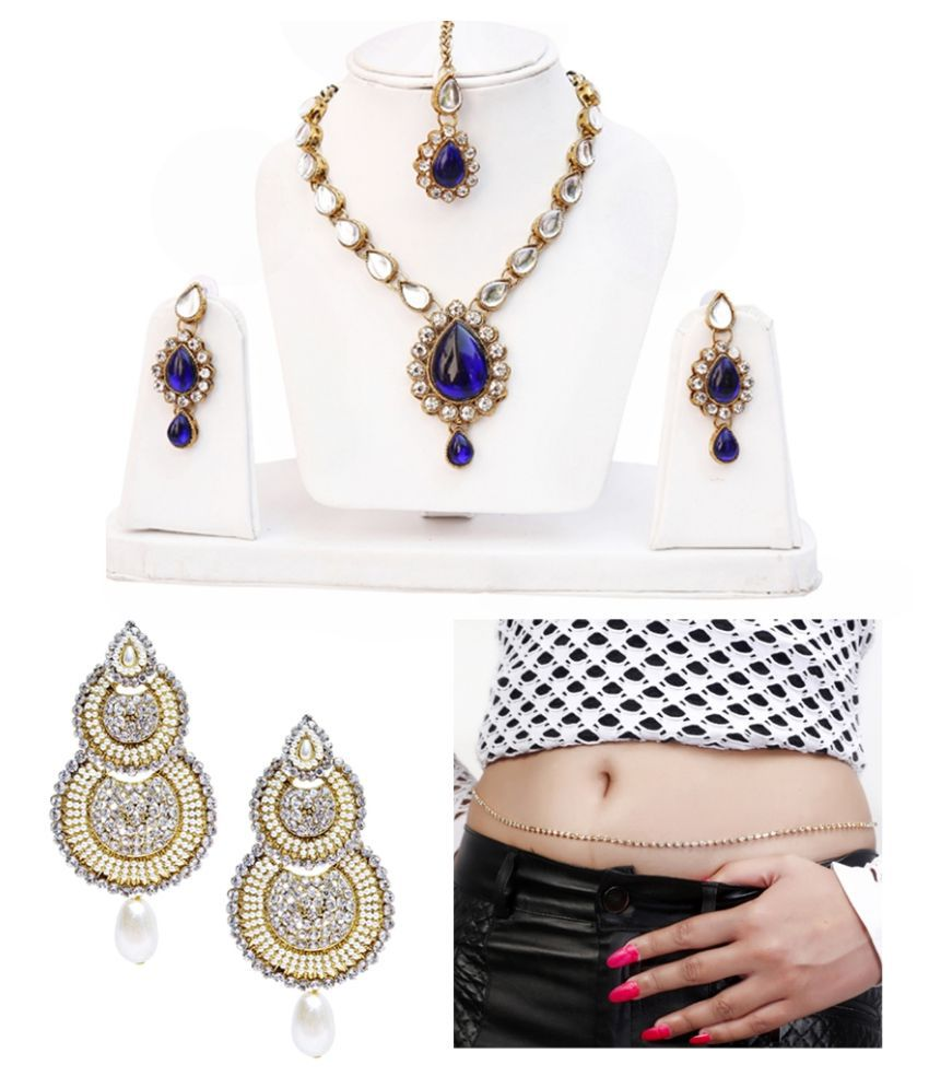 Lucky Jewellery Necklace Set Combo