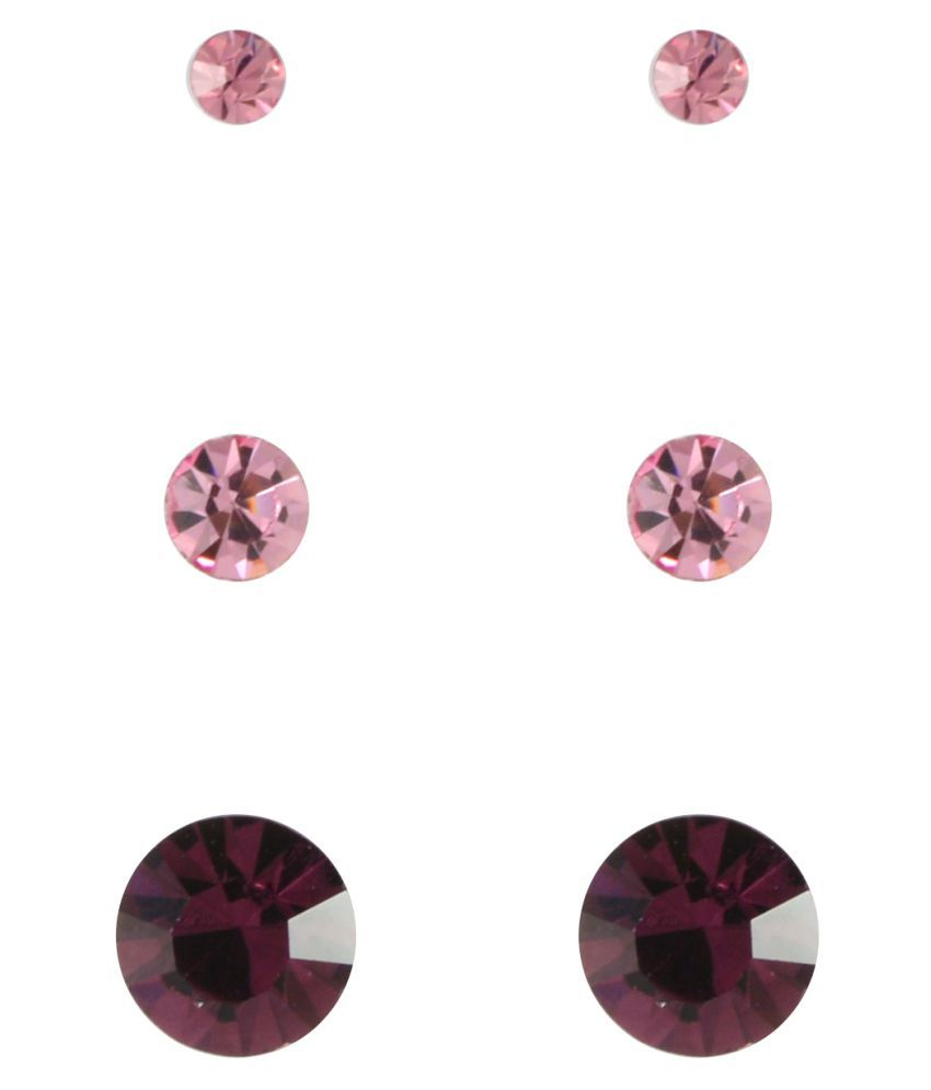 Sarah Pink Designer Earrings