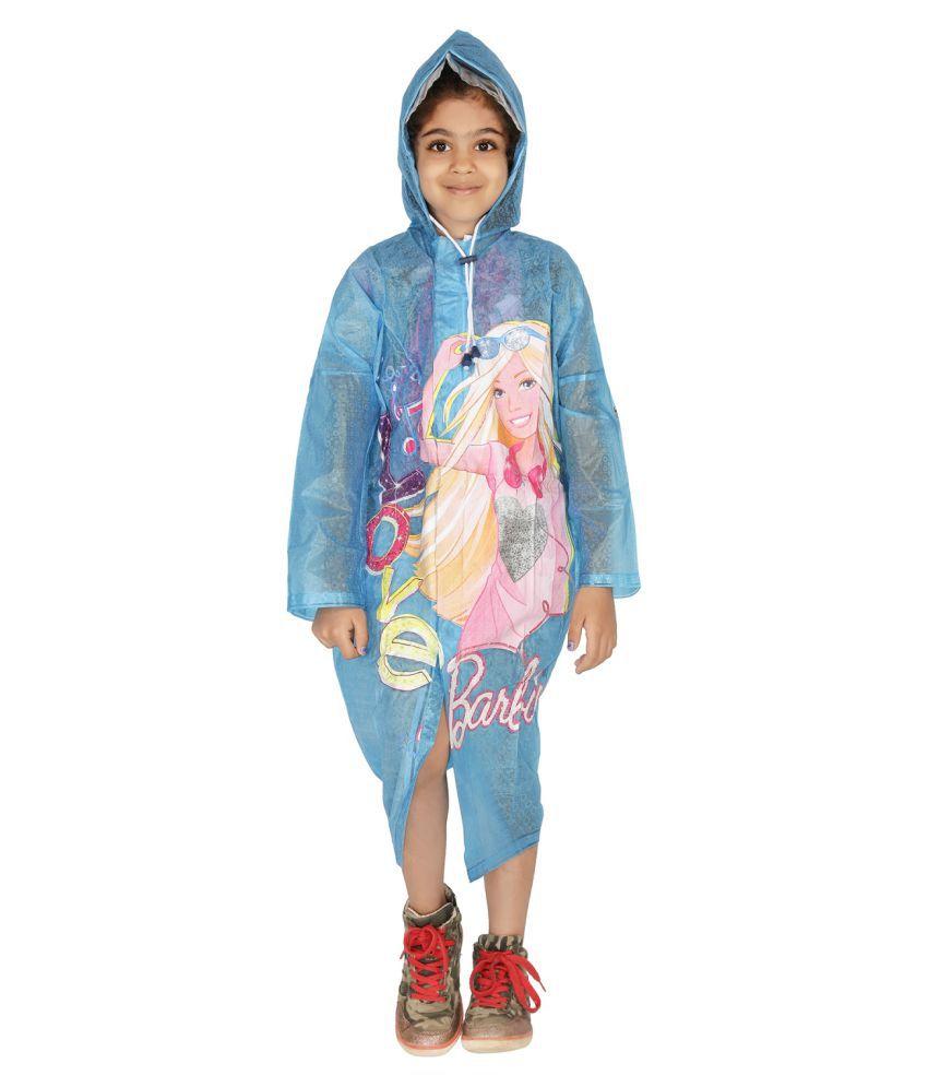 Zeel Blue Polyester Coats