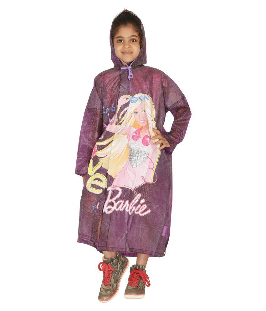 Zeel Purple Polyester Coats