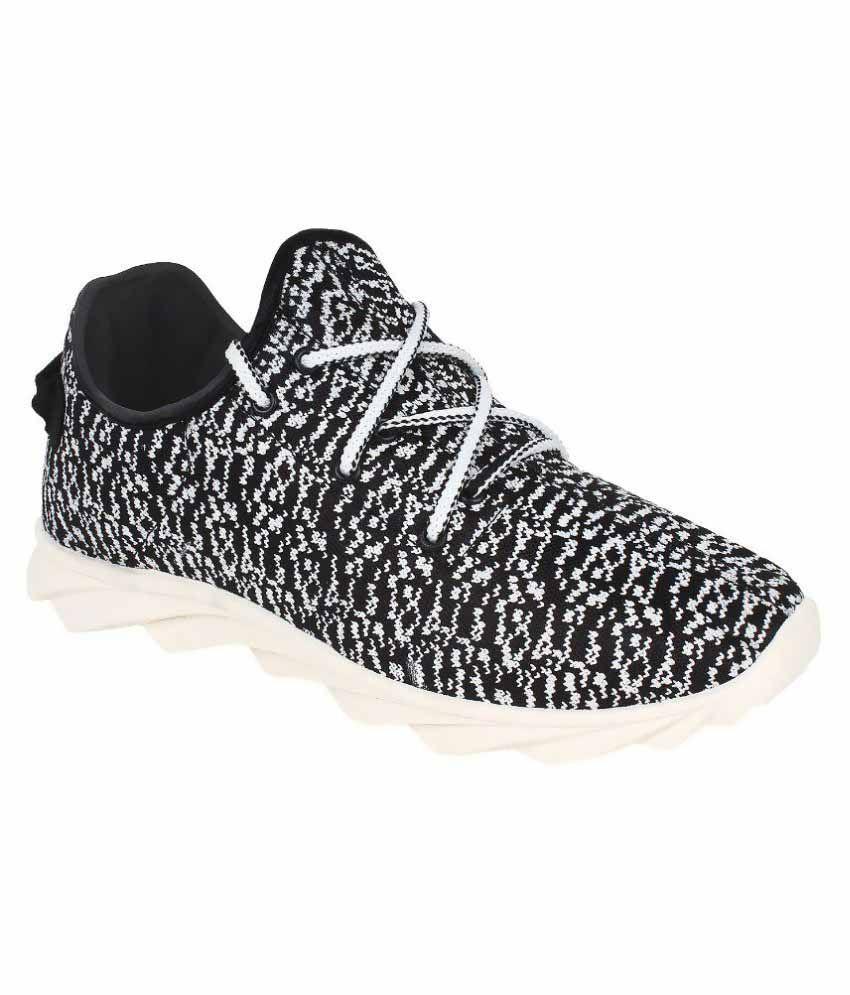 Oricum Footwear Black Running Shoes