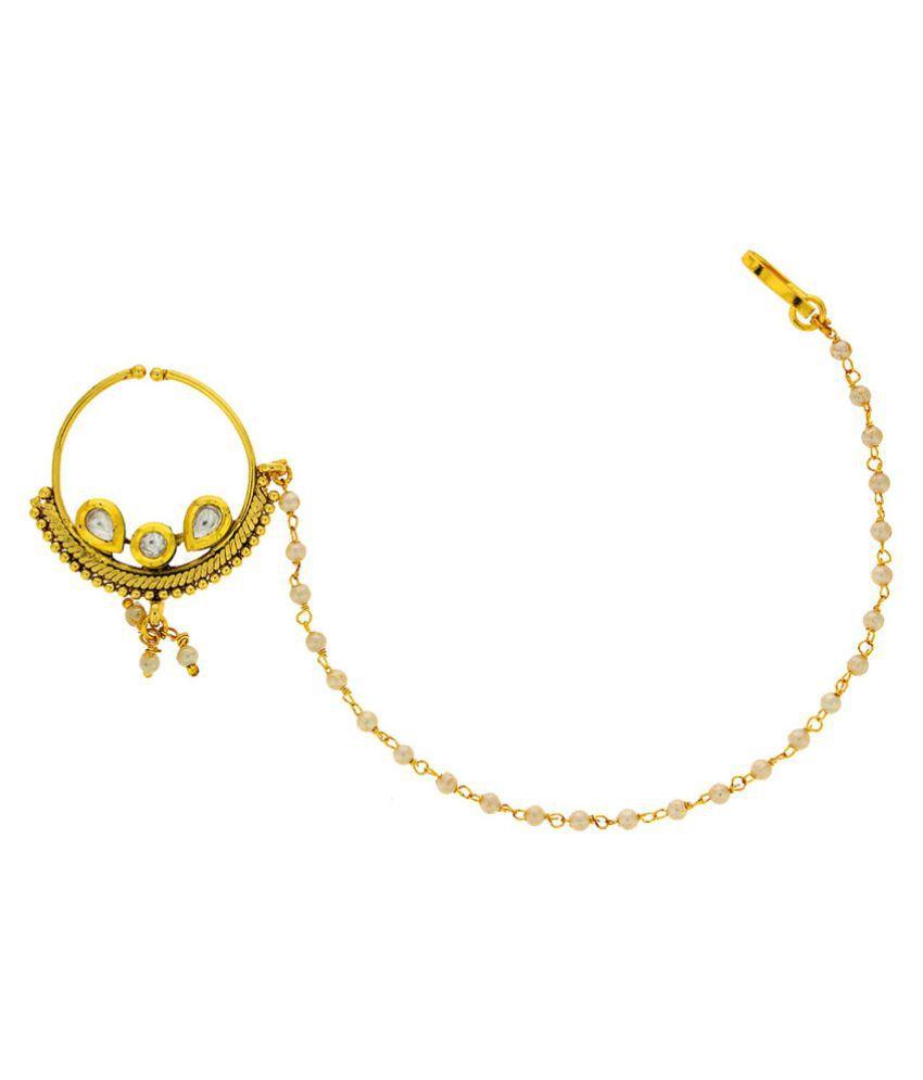Anuradha Golden Nosering