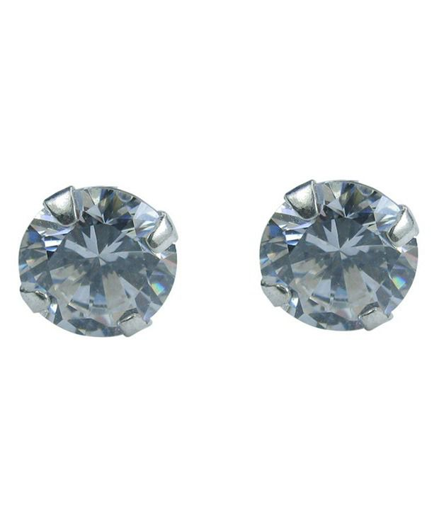 Collana 92.5 Silver Cubic zirconia Studs