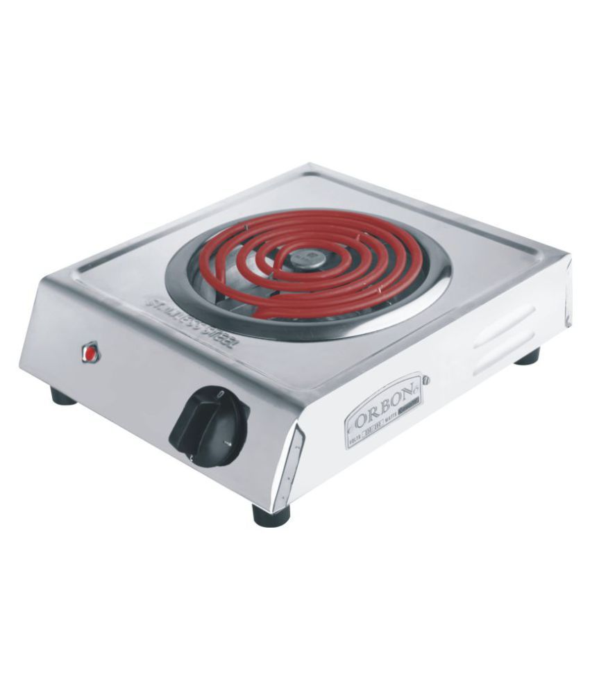 Orbon Indicator Steel 2000W Auto Electric Induction Cooktop