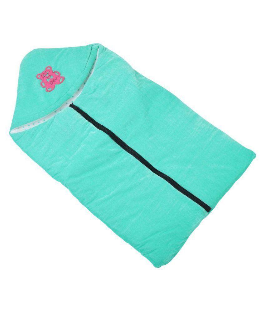 Chhote Janab Green Cotton Sleepin Bag