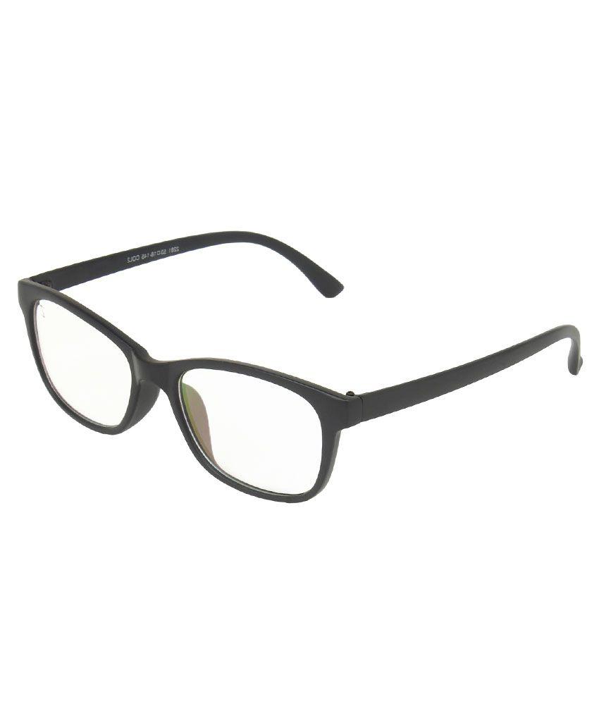 Zyaden Men Rectangle Eyeglasses Frame