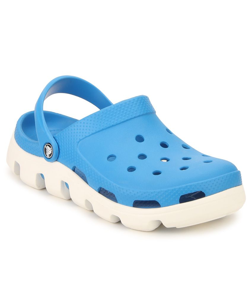 200a633eb Crocs 11991-49Y Blue Floater Sandals - Buy Crocs 11991-49Y Blue Floater  Sandals Online at Best Prices in India on Snapdeal