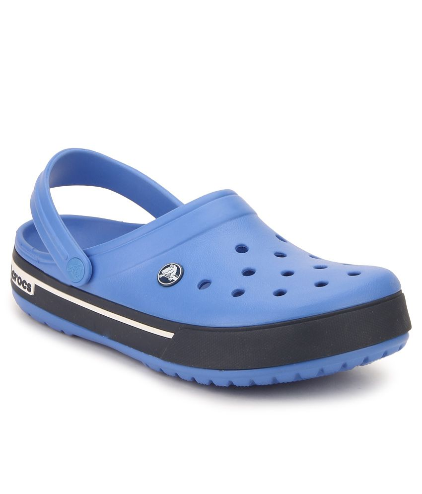 462bf31aa Crocs 12836-4J2 Blue Floater Sandals - Buy Crocs 12836-4J2 Blue Floater  Sandals Online at Best Prices in India on Snapdeal
