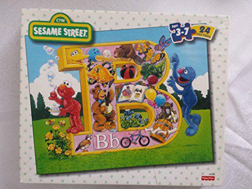 Sesame Street Letter B 24 Piece Puzzle Ages 3 7 Buy Sesame