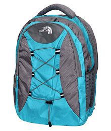 Premium Blue Canvas Backpack
