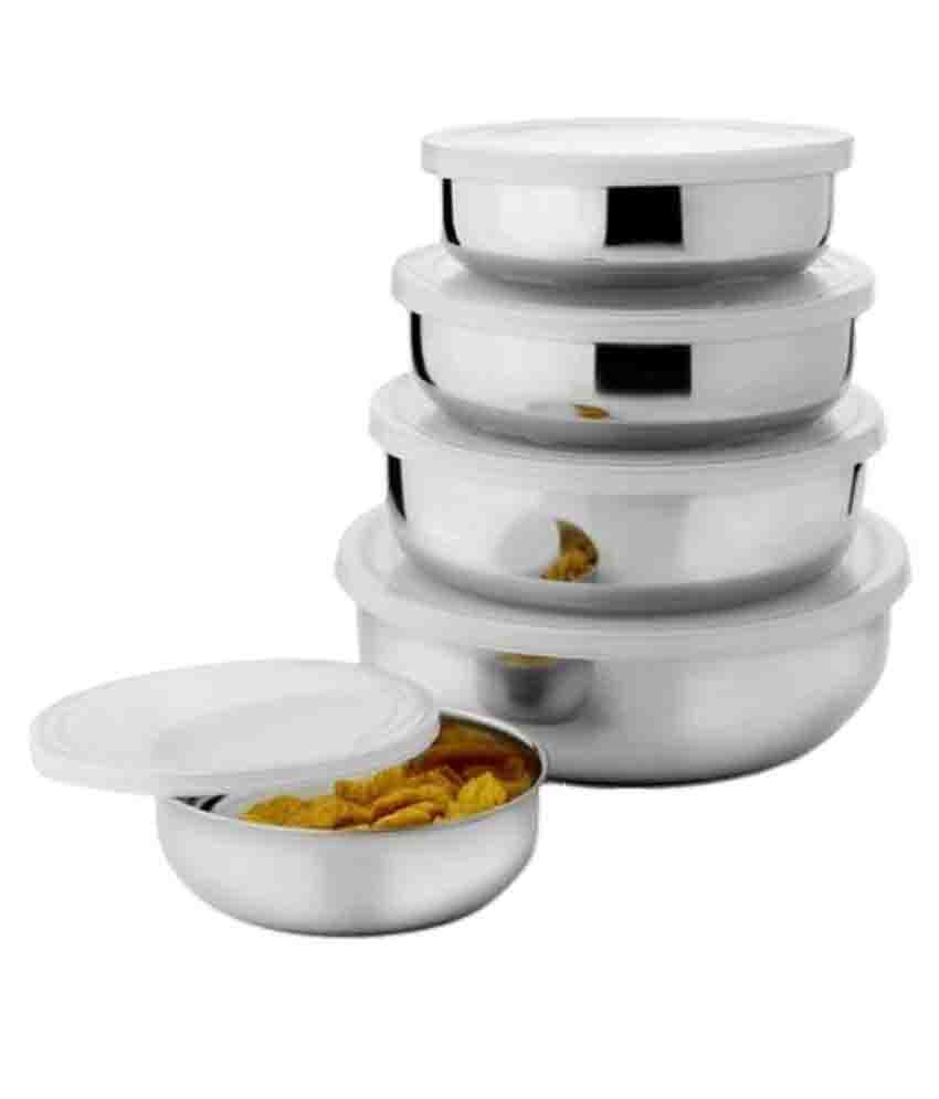 Lavi Stainless Steel Food Storage Container Steel Food Container Set
