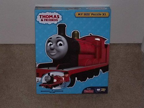 Thomas Friends James Red Engine My Size XL 46 Piece Puzzle